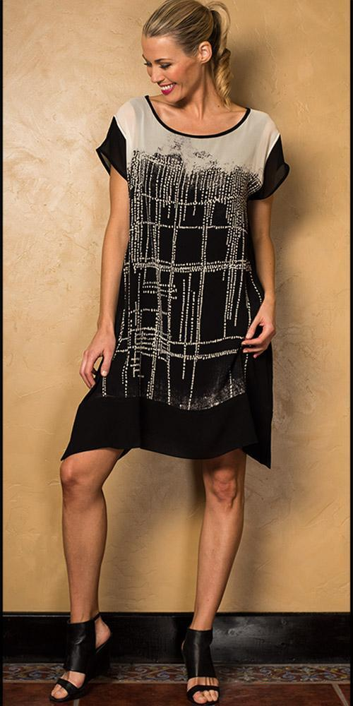 Aboriginal Scarf Tunic Dress